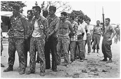 Confused anti-Castro forces captured during the Bay of Pigs invasion ...