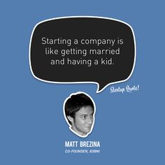 A startup needs hard work
