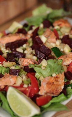 Make The Ivy's Signature Grilled Vegetable Salad