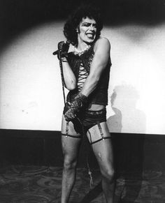 Tim Curry as Dr. Frank-N-Furter in Rocky Horror Picture Show