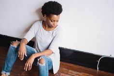 Basic Grey Tee, The Paper Doll Boutique, Basics, Tee Shirts, Fall Looks, Model, Senior Photography