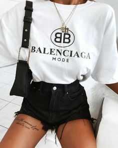 Fashion Outfits & Style Ideas For Summer Look – Fashion Trends 2019 Mode Outfits, Girl Outfits, Fashion Outfits, Fashion Trends, Fashion Belts, Fashion Ideas, Fashion Hair, Fashion Tips, Look Fashion