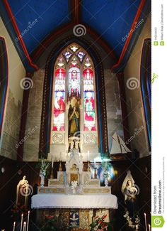 The Chapel Of Our Lady Of Good Hope Stock Photo - Image of town, lady: 105044612