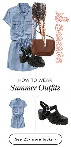 """""""summer outfit (yes know summer is over"""" by x0yourstruly0x on Polyvore featuring Gap, Pilot and Aéropostale"""