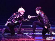 "•161229 BTS' JIMIN & SHINEE' TAEMIN ""Two Min"" dance @ 2016 KBS Song Festival Gayo Daechukjae"