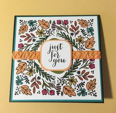 Alternative card from August Paper Pumpkin 2016 kit.