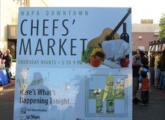 Check out Chef's Market. In Downtown Napa on Thursday evenings from mid May-July, streets are closed to cars and renowned chefs from the city's fine restaurants come out to prepare food which, of course, is paired with local wine. The atmosphere is lively and makes a great way to spend some time before dinner.