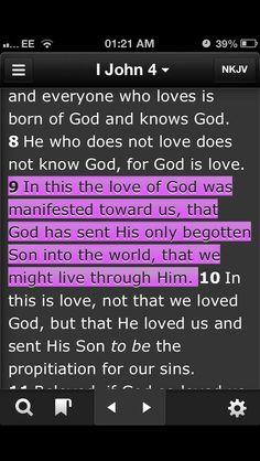 Through Christ we live