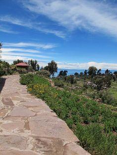 Floating Island on the Titicaca Lake - Titicaca lake, Puno, Peru