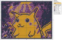 (via Pokémon – Pikachu » Birdie Stitching)