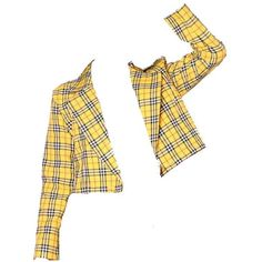 Yellow Plaid Blazer Fashion ❤ liked on Polyvore featuring outerwear, jackets, blazers, coats, plaid jacket, white blazer jacket, tartan blazer, yellow plaid blazer and white jacket