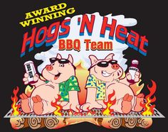Suicide Food: Hogs 'N Heat BBQ Team: before and after