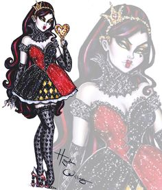 The Disney Villainess collection by Hayden Williams: Queen of Hearts