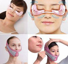 """Aparelho vibratório e máscara prometem deixar a pele com efeito """"lift"""""""
