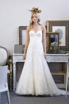Wtoo by Watters romantic lace wedding dress