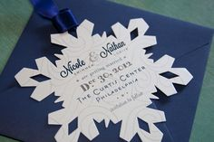 Winter Wedding Save The Date - Louella Court