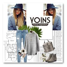 """""""Yoins 3."""" by marijaprusina ❤ liked on Polyvore featuring Current/Elliott, Vince Camuto, Bobbi Brown Cosmetics, Casetify, women's clothing, women's fashion, women, female, woman and misses"""