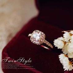 $7.05 Wedding ring ring ring women jewelry Austrian crystal the bride Princess simulation diamond ring couple complex