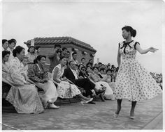 South Korea's first fashion show (designer Nora Noh) at Bando Hotel in 1956