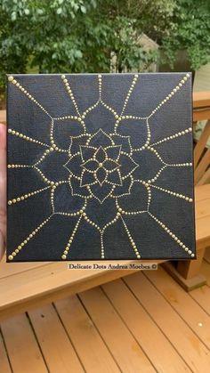 Mandala Canvas, Mandala Dots, Mandala Pattern, Mandala Design, Dot Art Painting, Painting & Drawing, Dorm Room Organization, Diy Arts And Crafts, Quilting Designs