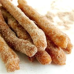 Homemade Churros...mmm :) this one'll be a little while until I get around to trying it, but def on the 'to make' list!