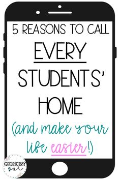 5 Reasons to Call Every Students' Home (and Make Your Life Easier!) - Lindsay Bowden