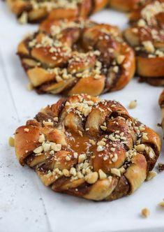 Köstliche Desserts, Dessert Drinks, Delicious Desserts, Dessert Recipes, Fall Recipes, Sweet Recipes, Food Porn, Swedish Recipes, Sweet Pastries