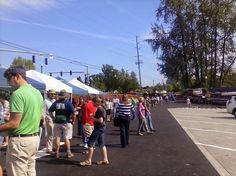 Photos - Google+Guests starting to show up for May 1st #Milwaukie #Riverfront Grand Opening.