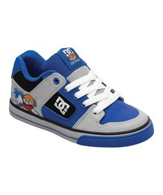 DC Black & Nautical Blue Pure Sneaker