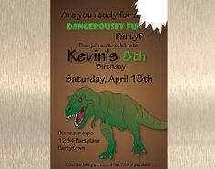 Dinosaur Invitation, ROAR!