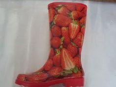 strawberry rain boots | Fresh Strawberry Printing Rain Boots - China Rain Boots,Rubber Boots