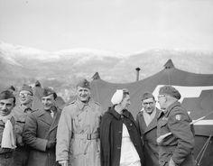 La 3e DIA dans le secteur du Belvédère sur le front d'Italie.