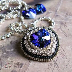 "Pattern bijoux: Collana ""Heart of the ocean"" Titanic"