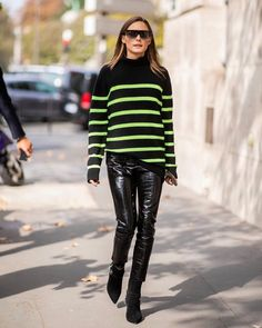 """Olivia Palermo on Instagram: """"Love a hint of neon"""""""