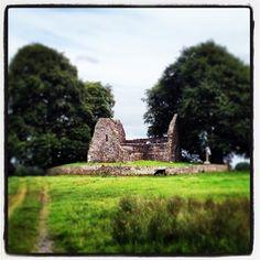 Monaincha Abbey near Roscrea in North Tipperary