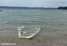 Deska surfingowa - jezioro Lubikowskie.