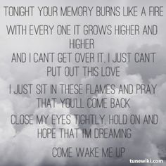 Come Wake Me Up ~ Rascal Flatts