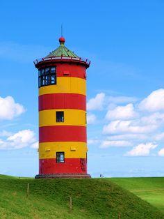 Pilsumer Leuchtturm von wrt, Pilsum, Lower Saxony, DE