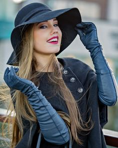 Gloves Fashion, Women's Fashion, Black Leather Gloves, Long Gloves, Cosplay Costumes, Sexy Dresses, Sexy Women, Beautiful Women, Chic