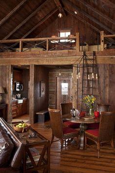 loft bedroom area