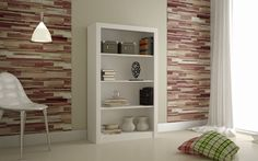 Olinda Bookcase with 4-Shelves in White #ManhattanComfort #Modern