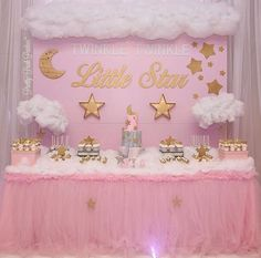 Twinkle Twinkle Little Star, Two Years Old is What You Are - inspired 2nd birthday #decoracionbabyshowergirl