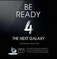 Be ready 4 the next galaxy