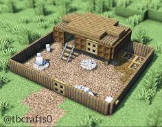Minecraft Farmen, Minecraft Villa, Architecture Minecraft, Minecraft Cottage, Minecraft Mansion, Minecraft Structures, Minecraft Interior Design, Cute Minecraft Houses, Minecraft House Tutorials