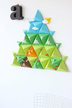Advent Calendar  This is so wonderful but I would spend until Christmas 2014 trying to make it.