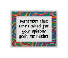 Funny Cross Stitch  Cross Stitch Quote  by CowbellCrossStitch