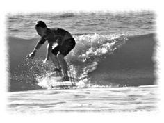 Coltin.. riding a wave!