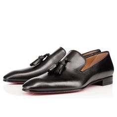 Men Shoes - Dandelion Tassel Flat Calf - Christian Louboutin