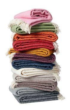 Klippan plaid eco wol Ralph | Wollen Plaids | Klippan, Zweedse dekens en plaids