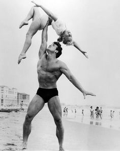 Steve Reeves and girl (?) Does anyone know?